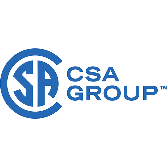 Certified by CSA Groups