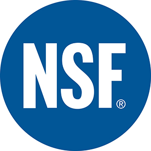 Certified by NSF International