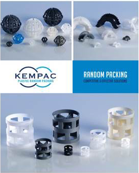 KEMPAC Filtration Media Plastic Random Packing